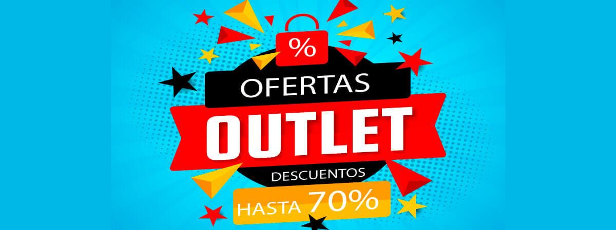 Descuento -70% en Outlet
